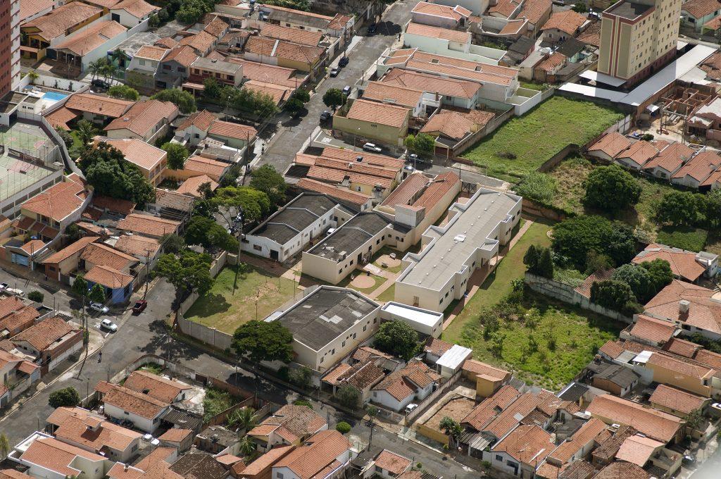 Casa do Bom Menino - Foto aérea