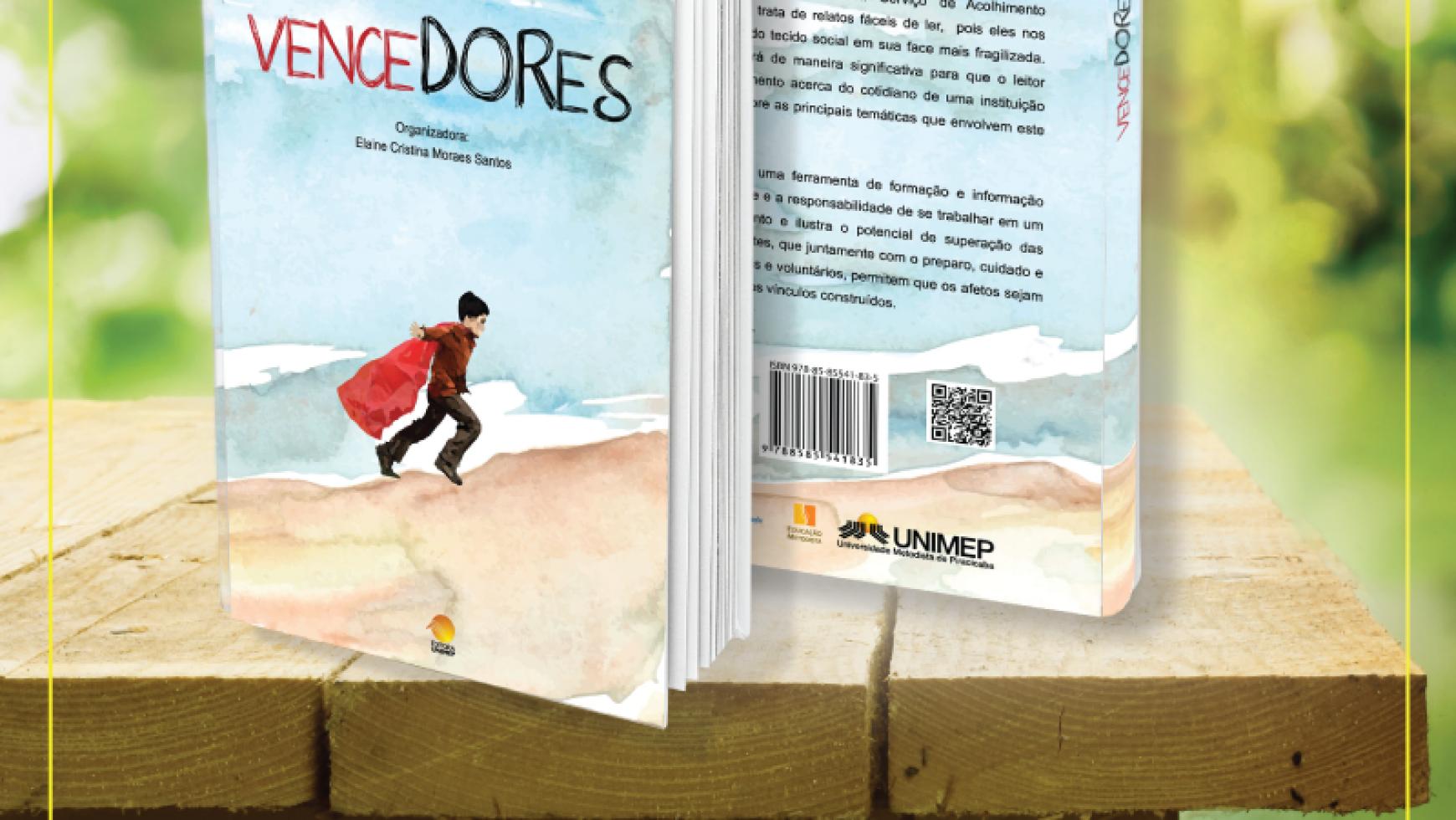 Casa do Bom Menino lança livro de histórias de vida dos acolhidos pela instituição